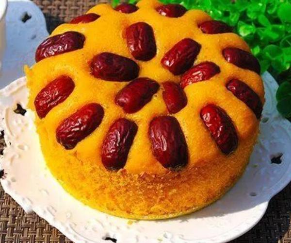 教你做南瓜发糕,手不沾面搅一搅上锅一蒸,甜香软糯比蛋糕还好吃