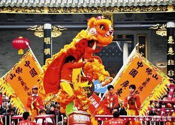 狮王争霸,南粤特色文化的新风尚