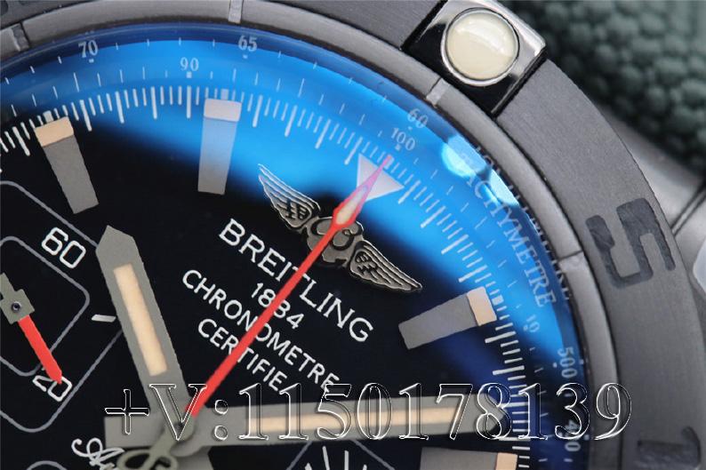 值不值入手?GF百年灵机械计时44mm黑钢 深度测评
