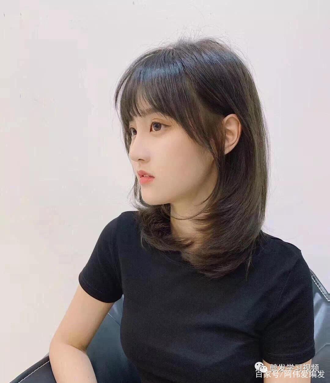 2020年流行的中短发发型,喜欢中短发的女人,它来了
