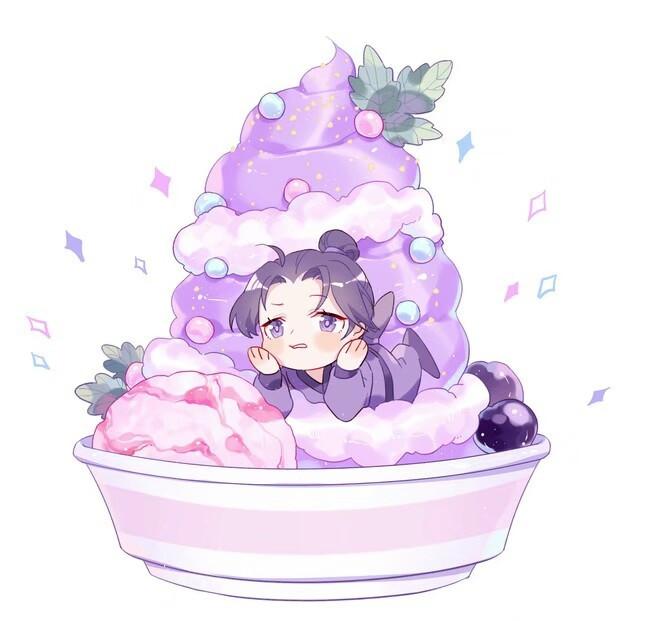 魔道冰淇淋:草莓味魏婴、蓝莓味蓝湛你喜欢吗?我喜欢最后一款
