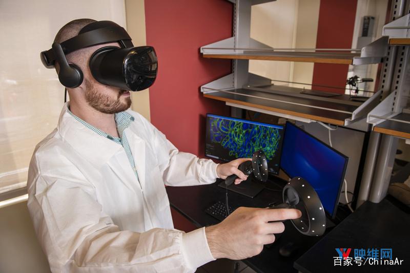 科学家利用VR显微技术 开展细胞结构探索 AR资讯 第1张