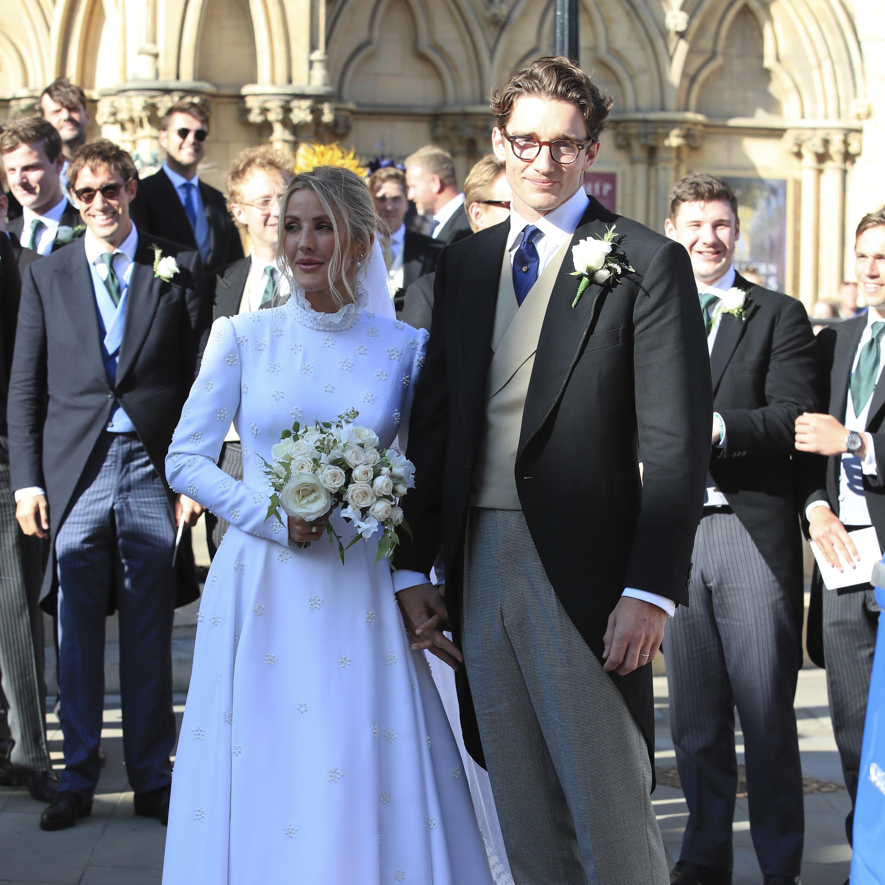 埃利·古尔丁在英国约克与卡斯帕·乔普林结婚