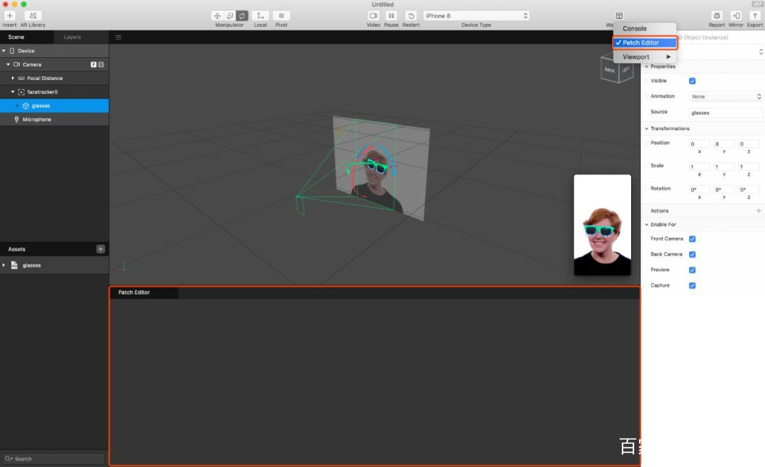 做一个属于你的 AR 滤镜 Spark AR Studio 介绍 资源教程 第14张