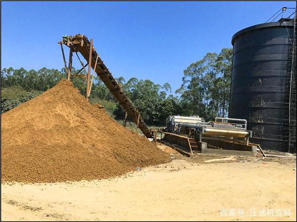 砂石厂因环保大量关停该何去何从?带式压滤机泥浆处理解决问题 2