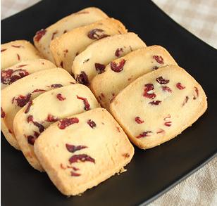 香甜的蔓越莓曲奇饼干做法,在家做,好吃营养又没有添加剂的饼干