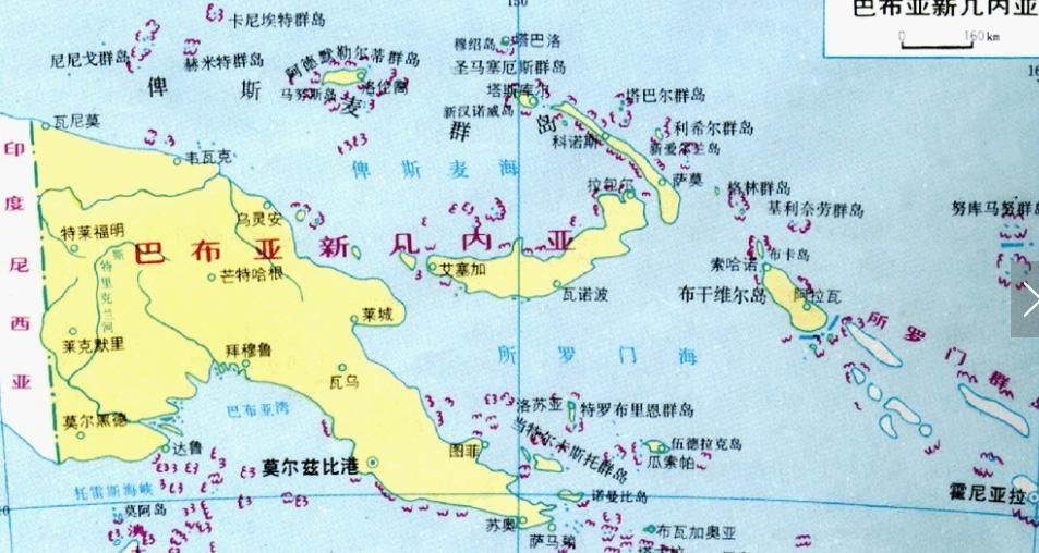 """""""巴布亚""""绝非小国,面积12个台湾,大洋洲第二大国-"""