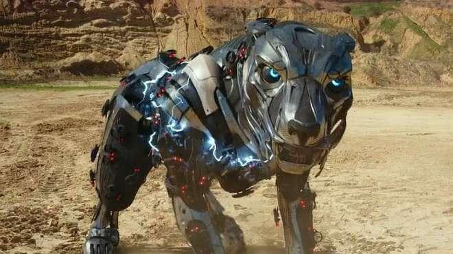 小伙在野外发现了一个巨型机器狗,把它收服成宠物,开始奇幻冒险