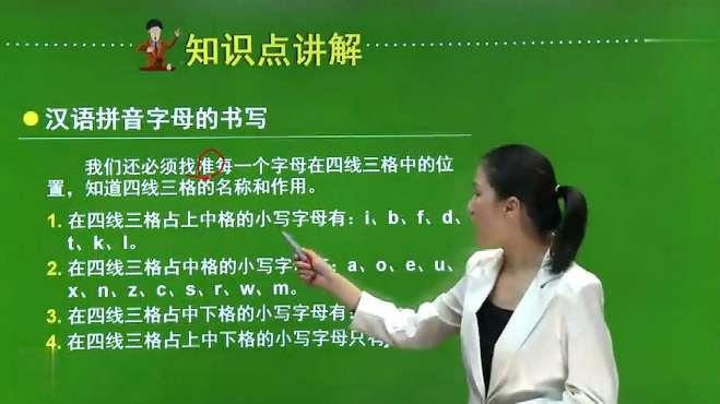 汉语拼音写法,究竟是咋写的,专业老师教会你,不学吃大亏