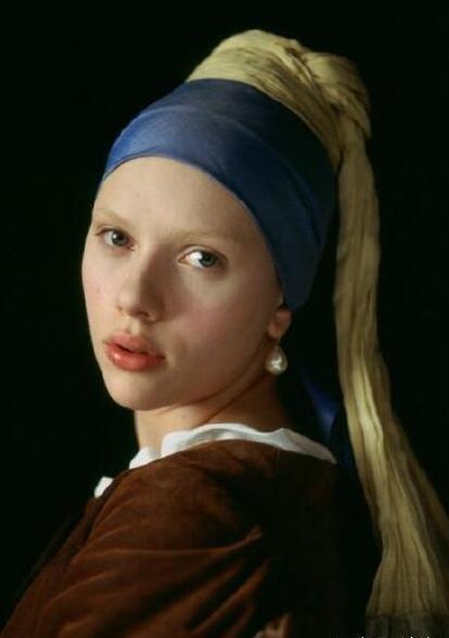 Angelababy最新尼龙杂志封面:cos戴珍珠耳环的少女俏皮又可爱