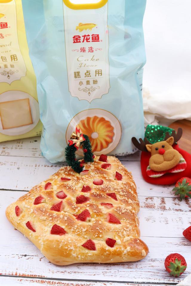 圣诞节,给孩子做个漂亮的圣诞树面包,好吃好看又好玩