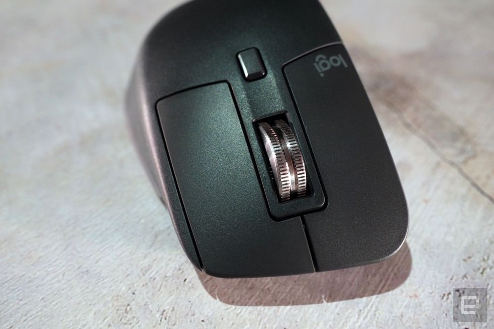 罗技的新款MX Master 3采用了磁铁,以获得更好的滚动效果