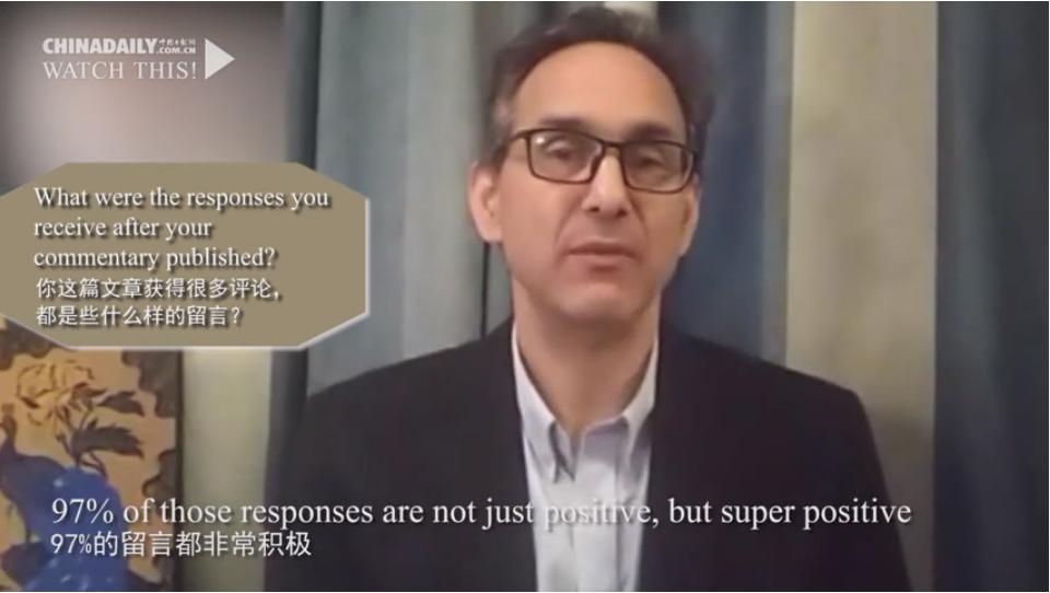 #推荐#中国抗疫努力却被诋毁,美国作家:厌倦了西方媒体抹黑中国