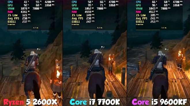 R5 2600X挑战i5-9600KF游戏性能,告辞!我还是等三代锐龙了