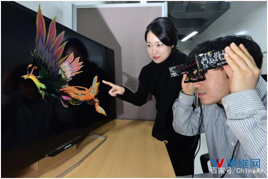 韩国研发4K分辨率轻携方面的光波导AR头显
