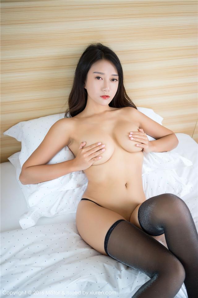 [魅妍社] 丁字裤巨乳诱惑美女猩一大胆诱人写真 Vol.14