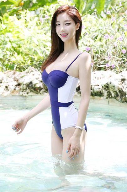 韩国八大泳装模特比基尼美图乐多美图网整理第34期