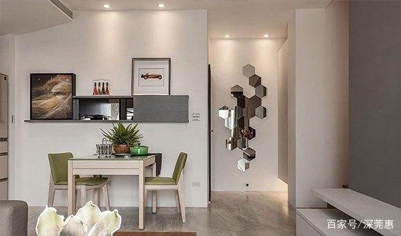 69㎡现代风格复式公寓装修,空间利用完美,卧室低矮但很知足!