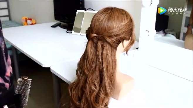 长发怎么扎头发好看 公主头扎发方法简单而且又甜美可人
