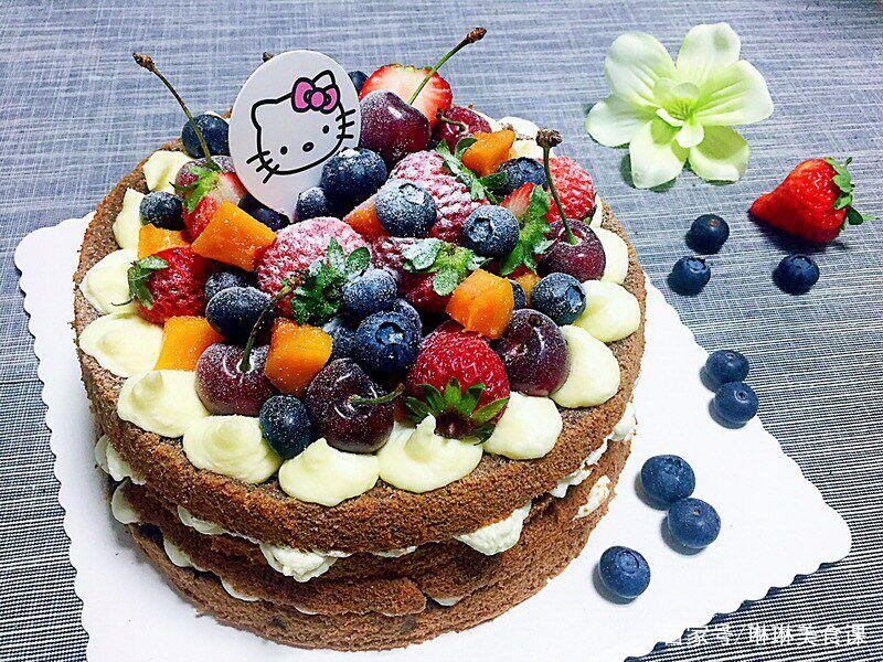 教你如何做现在最流行的蛋糕,方便快捷,一看就会