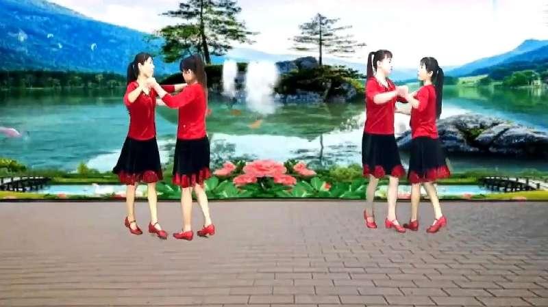 双人舞慢四步_学跳舞广场舞四步_广场舞跳舞播放机_跳舞的服装广场舞服装 ...