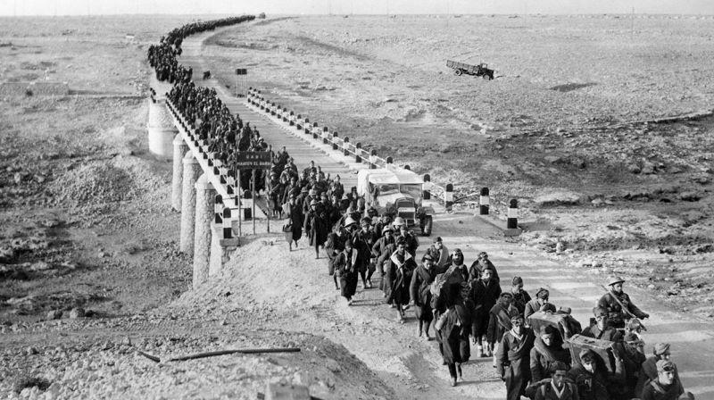 打仗对于他们而言太难了,二战北非战场投降的意大利人