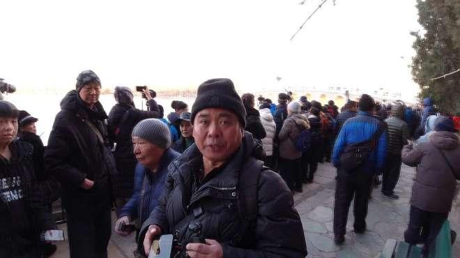 申请原创认证视频:拍摄颐和园十七孔桥金光穿洞