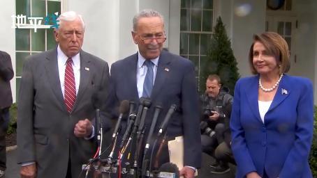 白宫会见特朗普 众议院议长佩洛西中途愤怒退场:总统情绪已崩溃