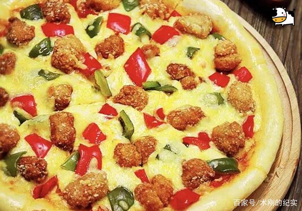 黑椒鸡肉披萨,酥脆松软,干净实惠,快来学一学!