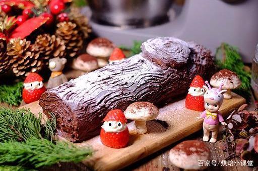 用树根装点你的圣诞餐桌——圣诞树根蛋糕