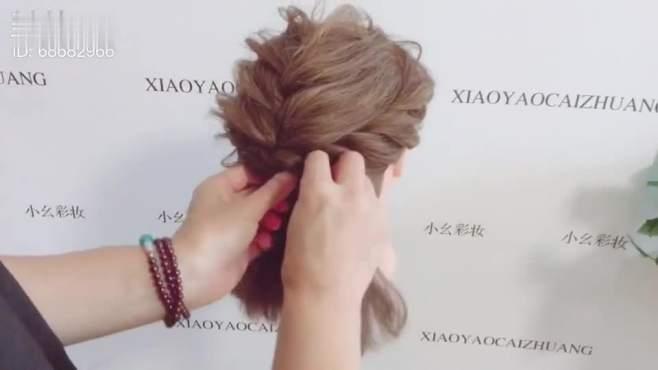 短发造型教程 韩式新娘发型