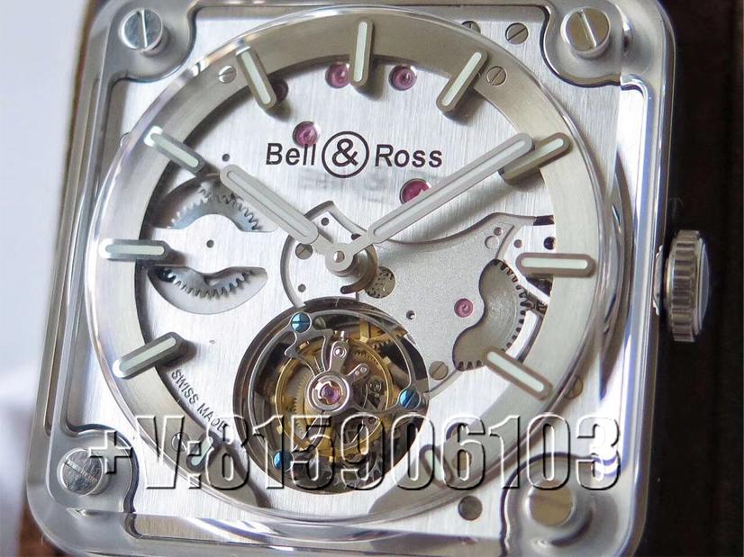 一品说表:BBR厂柏莱士BR-X2陀飞轮腕表!将机芯直接戴在手腕上