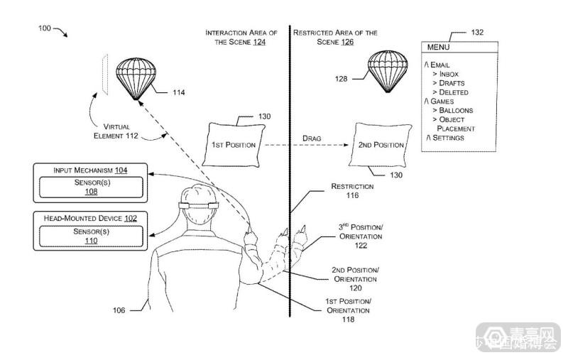 微软新专利:大大降低行动不便者体验MR的门槛 AR资讯 第2张