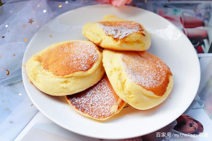 日式无油舒芙蕾(日式厚松饼)