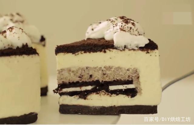 「烘焙教程」教你做甜品巨无霸—奥利奥芝士蛋糕