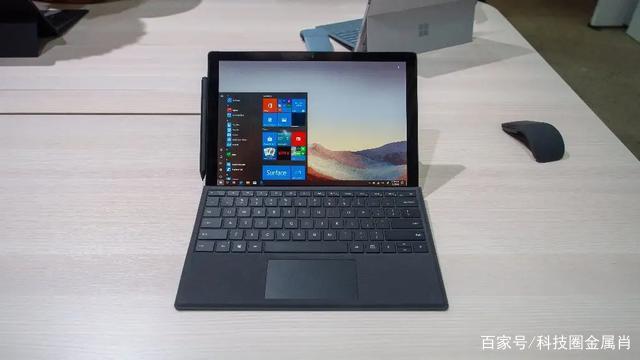 完美的工作角度,尽在微软Surface Pro 7