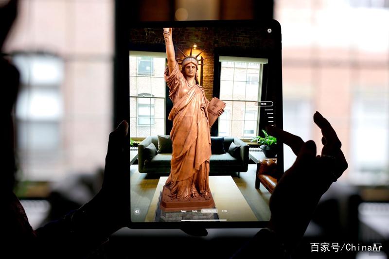 自由女神像 AR应用登陆苹果App Store商店 AR资讯 第1张