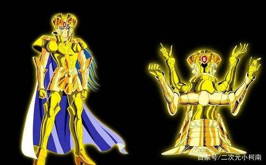 黄金圣斗士撒迦,双子圣斗士最强者,设定是双重人格是不是更好?