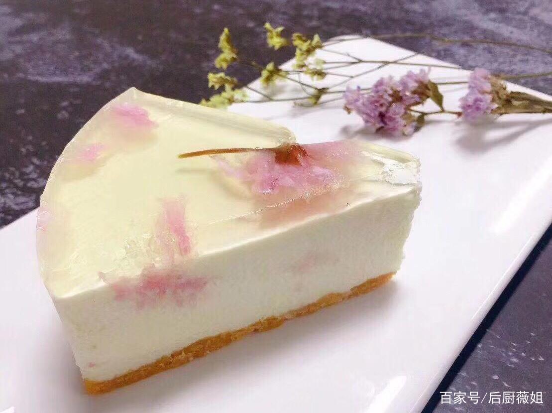 遗憾错过武汉最美樱花?酸奶樱花慕斯蛋糕等着你!是心动的感觉哦