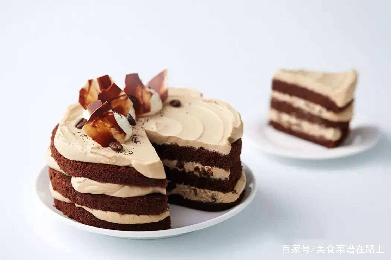简单易学的巧克力咖啡蛋糕,入口微甘不腻,回味很甜
