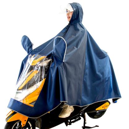 卓赢摩托车装备电动车雨衣产品图