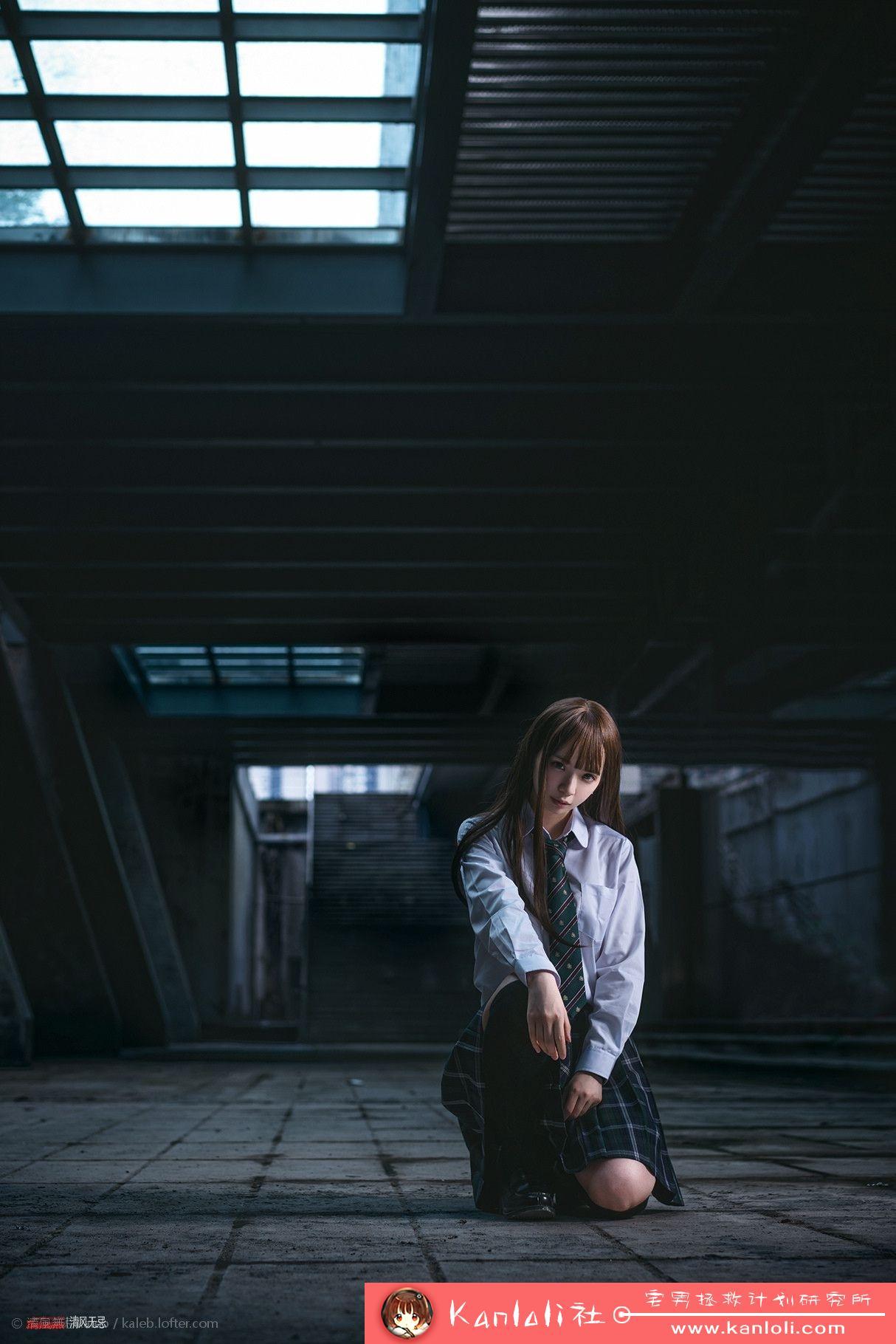 【疯猫ss】疯猫ss写真-FM-023 地下通道的碧眼萝莉 [6P]