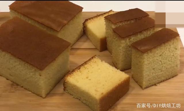 「烘焙教程」教你做蜂蜜海绵蛋糕,家中常备糕点