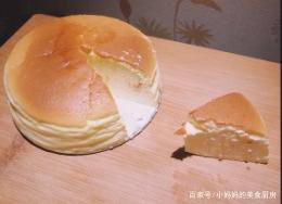 下午茶必备的精致甜点:芝士布蕾蛋糕!