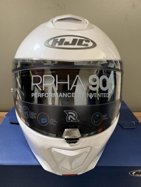 海淘HJC RPHA 90揭面盔开箱体验