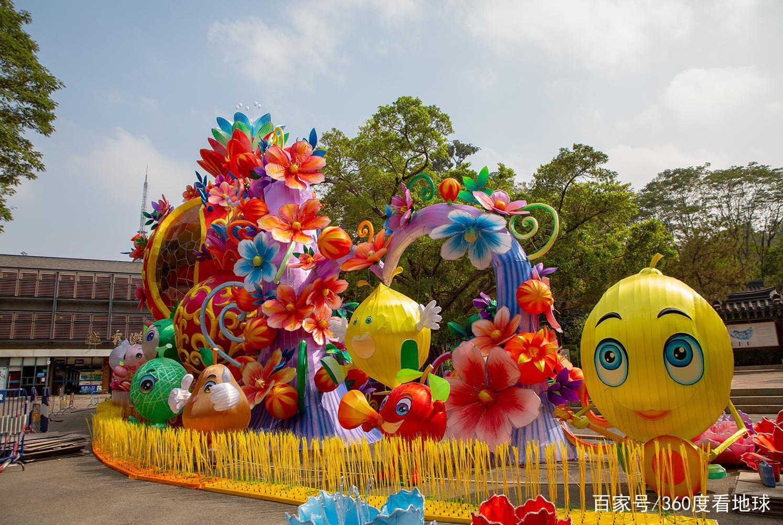 广州最适合春节出游的公园,张灯结彩满是年味,还有众多美景