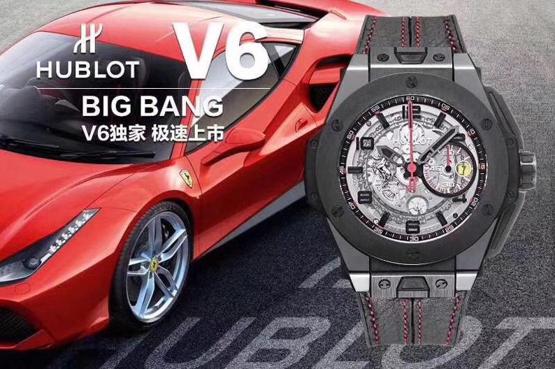 土豪款: V6宇舶大爆炸系列法拉利401复刻版,超跑的魅力!