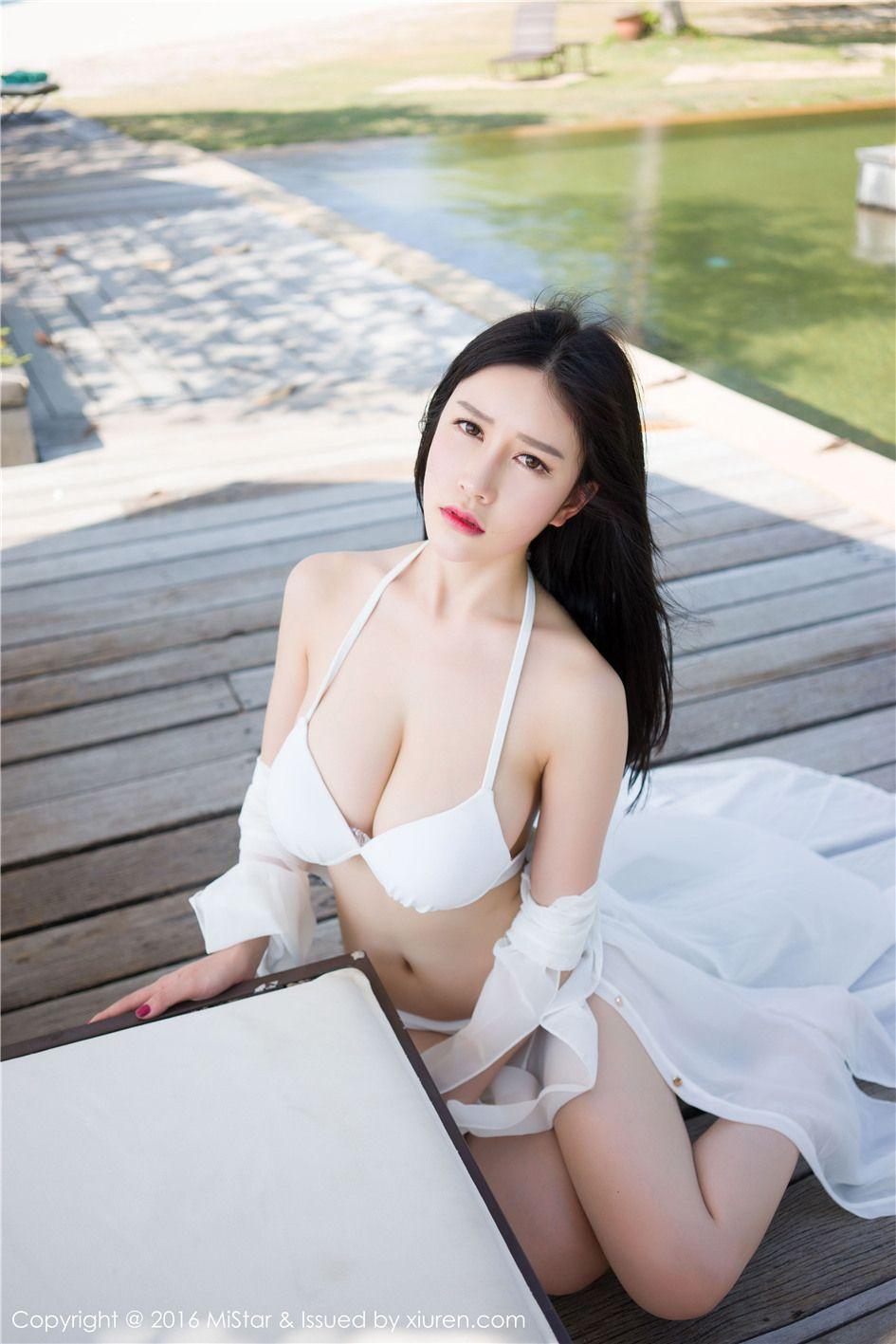 [魅妍社] 丰满高清美女于姬Una泳装靓丽  VOL.074