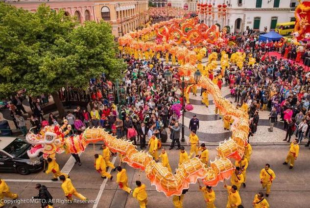 花车巡游、烟花汇演、新年灯饰……2020澳门春节活动多箩箩