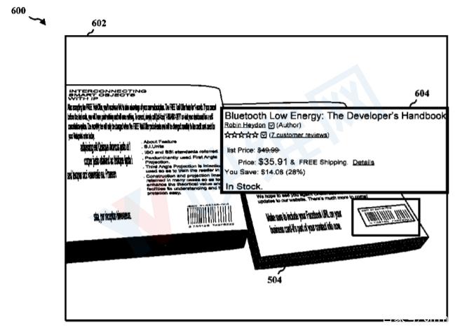 高通新专利曝光:通过AR头显进行视觉搜索 AR资讯